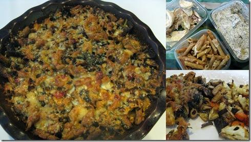 Mushroom Pasta Casserole