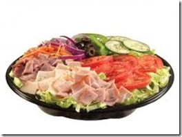 subway salads